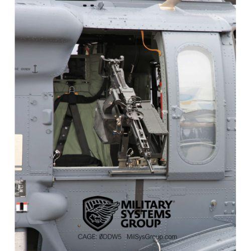 Helicopter-machine-gun-mount