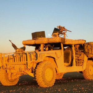 HMMWV Machine Gun Mounts and Turret