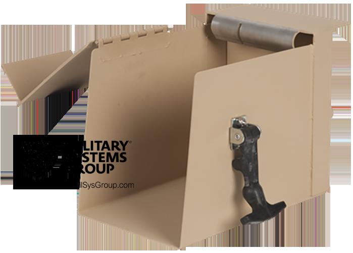 50 Cal Ammo Can holder for MK93 Machine Gun Mount
