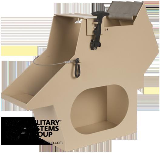 Ammo Can holder for MK93 Machine Gun Mount
