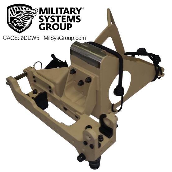 Machine Gun Mount for SA10 Swing Arm