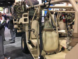 MSG Swing Arm and Machine Gun Mount on Polaris DAGOR AUSA 2019