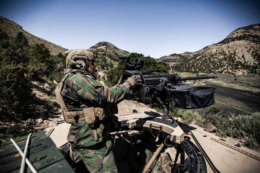 MSG DAGOR Turret and Machine Gun Mount
