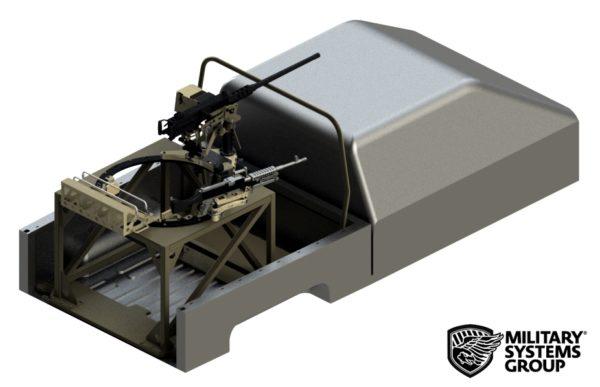 Non Standard Vehicle Machine Gun Mount Turret