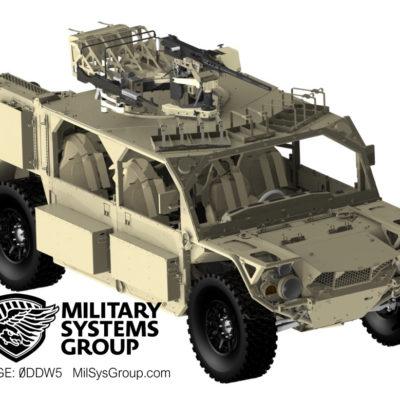 GMV 1.1 Turret and Machine Gun Mounts