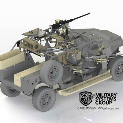 DAGOR Machine Gun Mounts